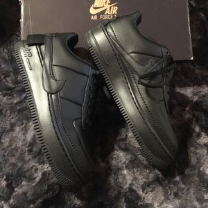 Woman's Nike AF1 JESTER XX BLACK size 8.5
